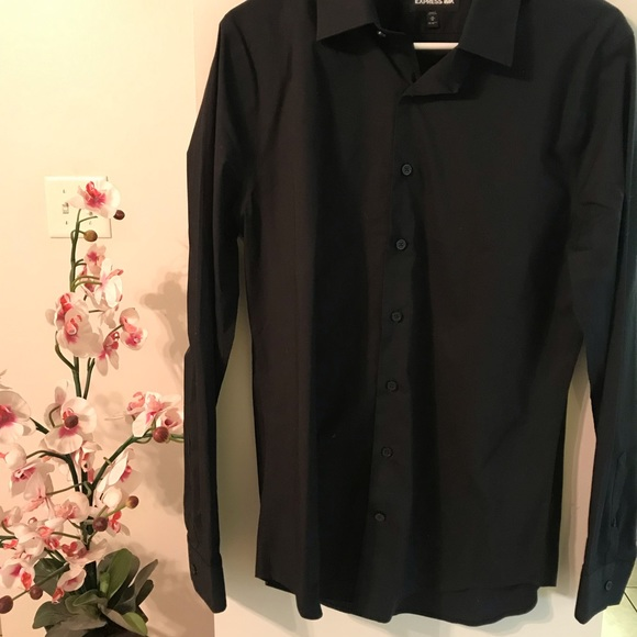 Express Other - Black Express 1MX Dress Shirt